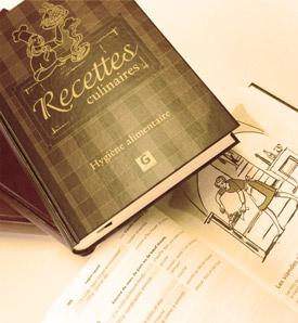 Recettes culinaires et hygiène alimentaire – Le livre brun – Nouvelle Édition